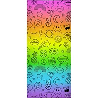 Fun Outlined Icons Towel