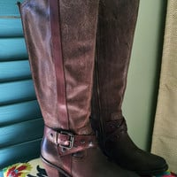 OTBT Brule Tall Boots Brown
