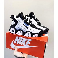 Nike Air Barrage Fashion New Hook Women Men High Quality Running Leisure Shoes
