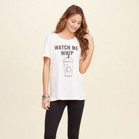 Watch Me Whip Graphic Tee