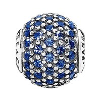 Women's PANDORA 'Essence - Peace' Pave Bead Charm