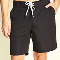 Lace-Up Swim Trunks