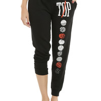 Twenty One Pilots Symbols Girls Jogger Pants