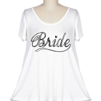 Bride Top in Ivory