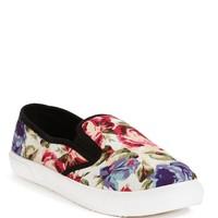 Sale-white Floral Sneakers