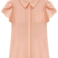 Lovable Solid Button Down Shirts - OASAP.com