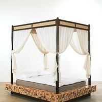 Hourglass by Brian Reid: Wood Beds   Artful Home