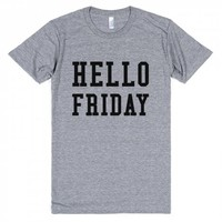 HELLO FRIDAY T-SHIRT IDE03060143 | Athletic T-shirt | SKREENED