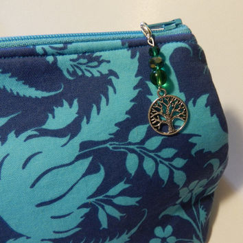 Silver Tree of Life Zipper pull Purse Pull Hoodie Pull Jacket Pull    V4668