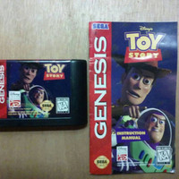 Toy Story With Instructions Sega Genesis Game