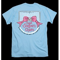 Itsa girl Thing Sweet Southern Charm Pearls Bow Bright Girlie T-Shirt