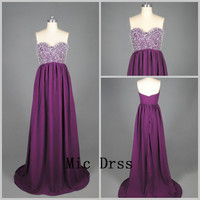 High Quality One-shoulder Sleeveless Mini Sequins Crystal Beading Prom/Evening/Party/Homecoming/cocktail /Bridesmaid/Formal Dress