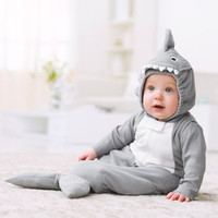 Fleece Shark Halloween Costume