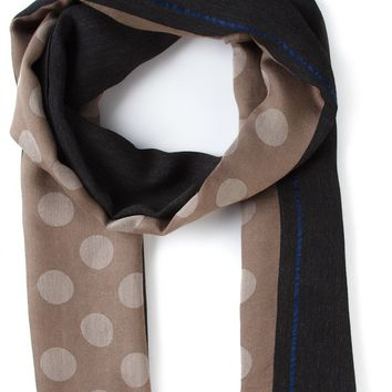 Paul Smith polka dot scarf