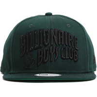 BB Arch New Era Snapback Hat Forest Green