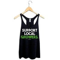 SUPPORT LOCAL GROWERS RACERBACK