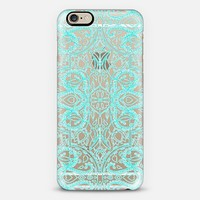 Turquoise Symmetry iPhone 6 case by Micklyn Le Feuvre | Casetify