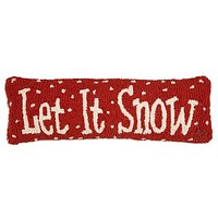 "Let It Snow 8""X24"" HKD PILLOW"