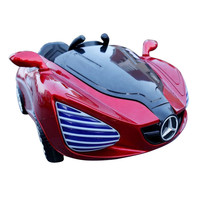 Luxurious Children Electric Ride On Car Baby Toy Car 4WD On Dual Battery Drive Remote Control Electric Cars for Kids Four-wheel