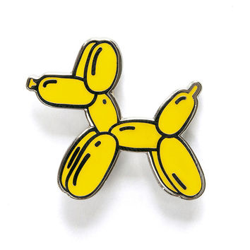 Balloon Dog Pin