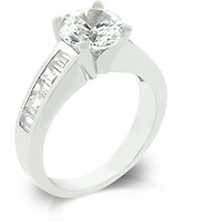 Classic Baguette Anniversary Ring