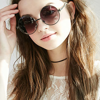 Round Gradated Sunglasses