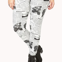 Read All About It Leggings