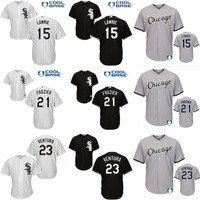 Youth and Men COOL BASE Chicago White Sox 15 Brett Lawrie 21 Todd Frazier 23 Robin Ventura Baseball Jersey all stitched