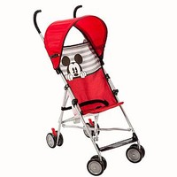 Disney Umbrella Stroller with Canopy Mickey Stripes - Baby - Baby Car Seats & Strollers - Strollers & Travel Systems