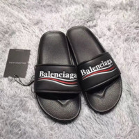 Black BALENCIAGA Slippers Casual Running Sport Summer Wear