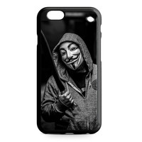 Anonymous Guy Fawkes Mask iPhone 6 Case