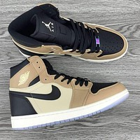 NIKE Air Jordan 1 Gao Bang series Gym shoes
