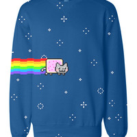 Nayn Cat Allover printed sweatshirt