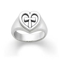 James Avery Eternal Love Ring - Sterling Silver 8