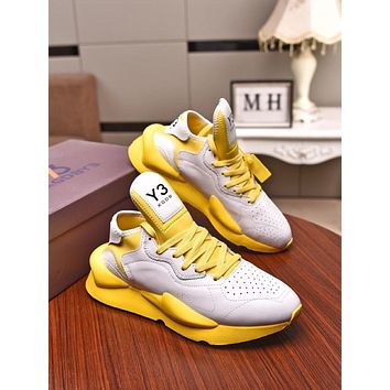 Y3  Woman's Men's 2020 New Fashion Casual Shoes Sneaker Sport Running Shoes