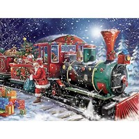 Ceaco Classic All Aboard Christmas Puzzle - Puzzle Haven