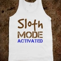 SLOTH MODE ACTIVATED TANK TOP