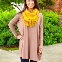 Piko Dress - Taupe