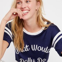 Free People What Would Dolly Do Tee