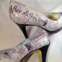 Harry Potter Custom Order Wedding Heels