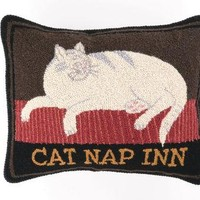Cat Nap Inn Hook Pillow