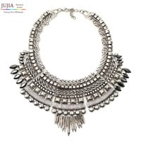 Chunky Metal Necklace