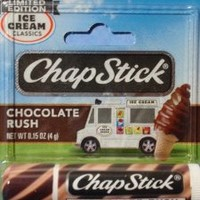 ChapStick limited edition Ice Cream Classics Chocolate Rush (Pack of 4)