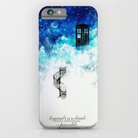 Beyond the clouds iPhone & iPod Case by Rose's Creation