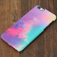 Pastel Turquoise Sky iPhone XR Case | iPhone XS Max plus Case | iPhone 5 Case | Galaxy Case 3D 082