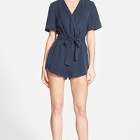 Women's Finder's Keepers the Label 'Rewind' Romper,