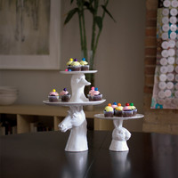 Takes the Cake Plates in assorted styles design by imm Living
