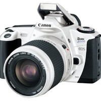 Canon EOS Rebel 2000 Silver Date 35mm SLR Camera Deluxe Kit with 28-90mm Lens (Discontinued by Manufacturer)