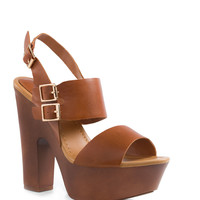 Shawnee Pumps - Tan