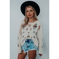 REORDER: Chill Tone Sweater: Ivory